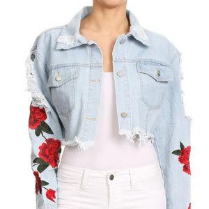 Jackets & Blazers - Just Rosey Denim Jacket